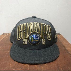 New Era 2018 NBA champs Snap Back Hat
